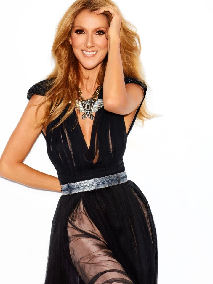 Celine Dion dials it down for 'Loved Me Back to Life'