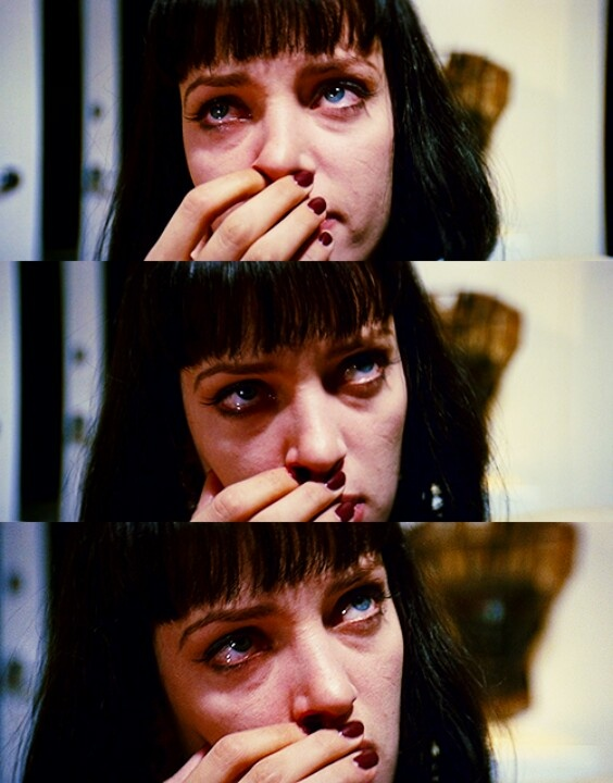 Uma thurman as mia wallace in pulp fiction 1994 by quentin tarantino film pinterest cin ma - Deguisement pulp fiction ...