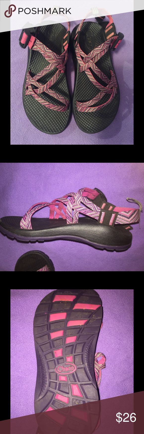 Kids chacos Pink and purple cover on chacos in kids Chaco Shoes Water Shoes