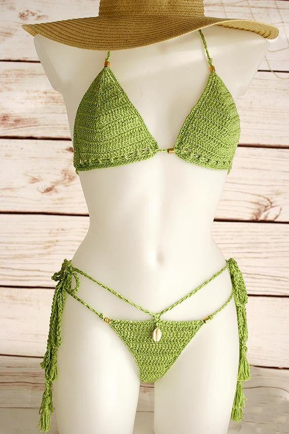 d3a88ce127d Micro bikini Sexy Crochet bikini