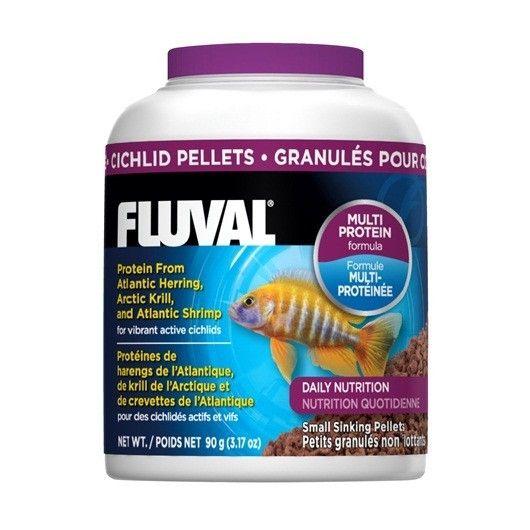 AlImento en Granúlos Ciclido FLUVAL - #FaunAnimal El Alimento para Cíclidos Fluval proporciona una excelente fuente diaria de proteínas, oligoelementos y antioxidantes a partir de varios ingredientes clave, como el