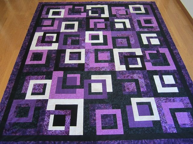 2880 best images about Quilting on Pinterest | Square quilt, Quilt ... : quilt purple - Adamdwight.com