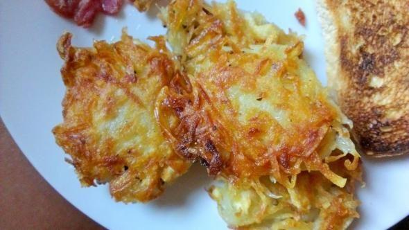 English breakfasts - Homemade Hash Browns