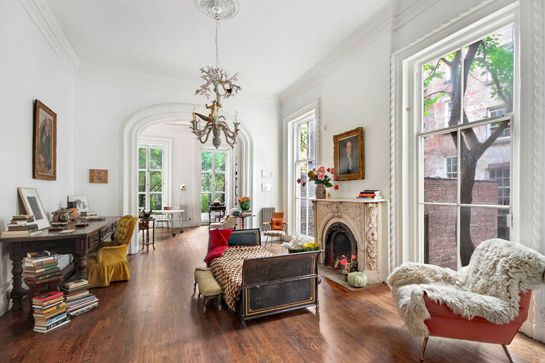 15 Absolutely Dreamy New York City Apartments  #refinery29  http://www.refinery29.com/nyc-dream-apartments#slide-21  Old-school charm we just can't get enough of.