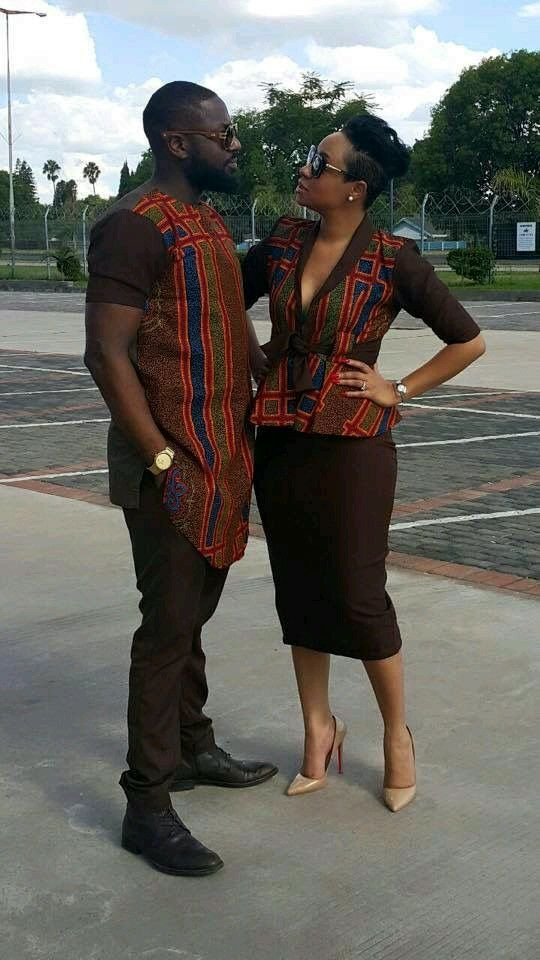 Couples African attire                                                                                                                                                                                 More