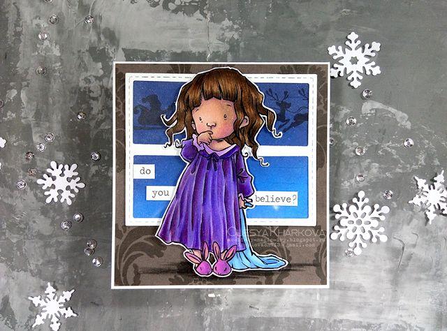 As if by magic by Olesya Kharkova: Believe | Christmas card
