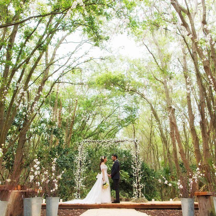 Outdoor Wedding Ceremony Orlando: Florida Rustic Barn Weddings