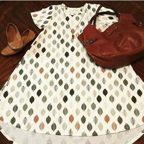 Style your LuLaRoe CARLY dress with pieces you already own!  Jewelry, cardigans, scarves, and shoes will give your look your own personal touch! Chic and comfortable! Facebook.com/groups/LuLaRoePrisandJulie/