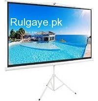 Multimedia #projector  Screen  We deal in all types of MuLTIMEDIA  Projector Screen   Sizes R start 6 x 6 feet 8 x 6 feet 8 x 10 feet 9 x 12 feet   Electric & Manual both r screen Available  in stock For More Info:  Plz Contact us www.projectors.pk