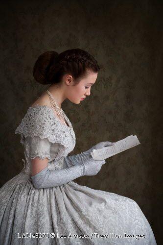 Trevillion Images - victorian-woman-reading-letter