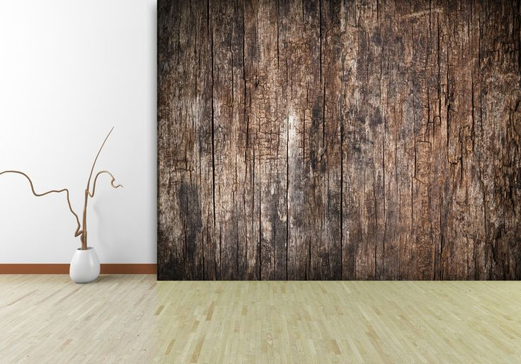 "Fototapete ""altes Holz"" // wallpaper ""old wood"" by Trendwaende via DaWanda.com"