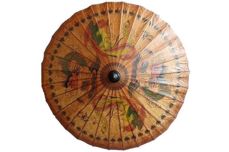 Thaïlande main parapluie de papier huilé classique antique appel durable parasol exquise impression de danse parapluie décoratif dans Parapluies de Maison & Jardin sur AliExpress.com | Alibaba Group