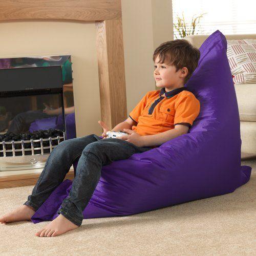 Kids BAZ BAGR Beanbag Chair PURPLE