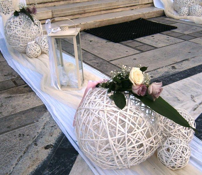Στολισμός γάμου εξωτερικός - Άγιος Θεράποντας