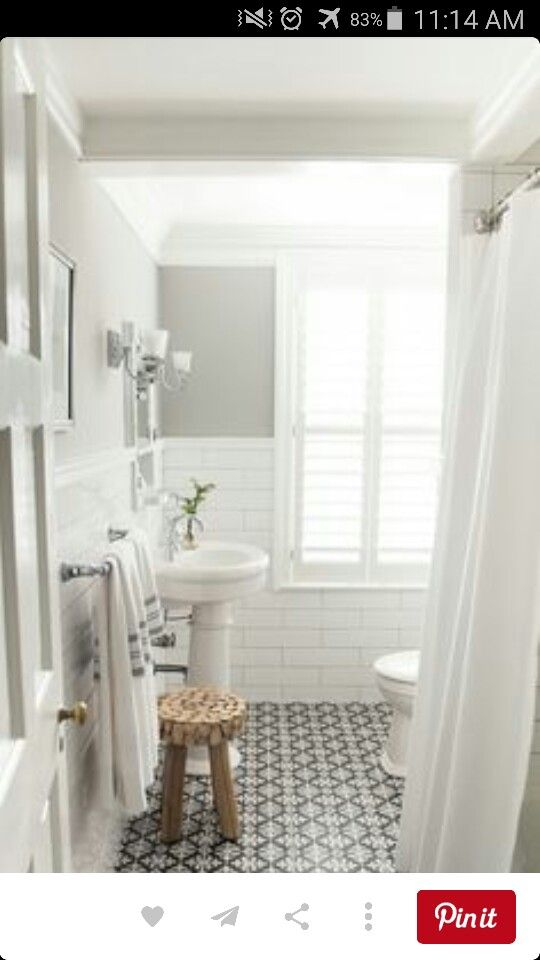 Simple beautiful bathroom