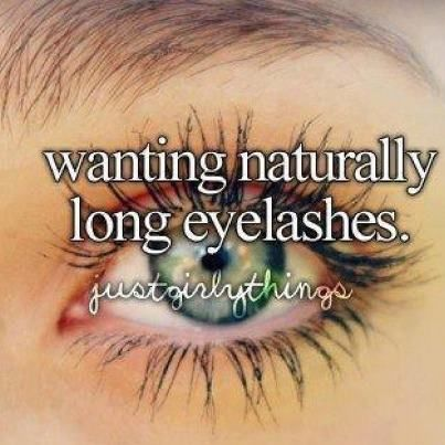 I am very lucky because I have pretty desently long eyelashes and they are naturally black :)