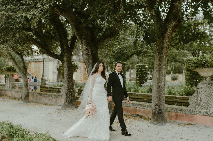 One Frame :. Vizcaya Wedding Miami http://shaunaheron.com Shauna Heron Photography