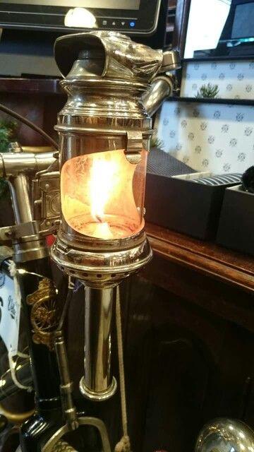 Beautiful old candle lantern .....