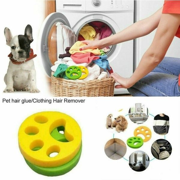 2019 New Remove Animal Hair When Washing And Drying Pet Fur Lint Hair Catcher Hair Catcher Remover Laundry Cleaning Mesh Bag Washer Filter Bag Mesh Filtering Ha