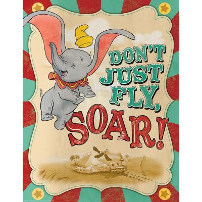 Dumbo Soar Poster | Eureka School, classroom decoration