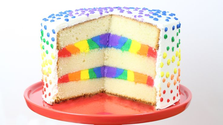 Rainbow Cake Recipe Joy Of Baking: Best 25+ Rainbow Layer Cakes Ideas On Pinterest
