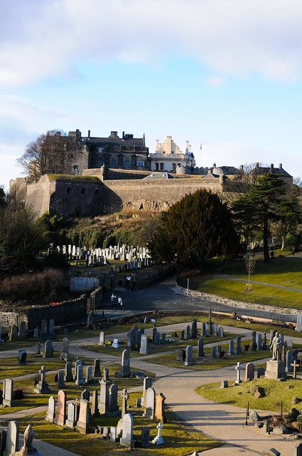 Sterling is the largest city in Central Scotland. The city is clustered around a large fortress and medieval old-town.