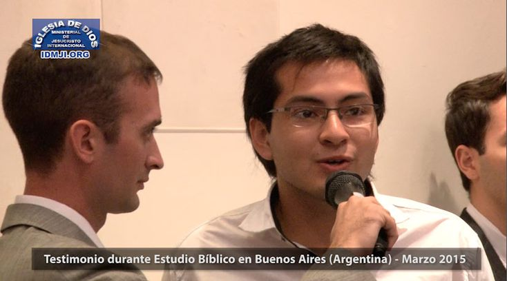 Testimonio en Buenos Aires Argentina