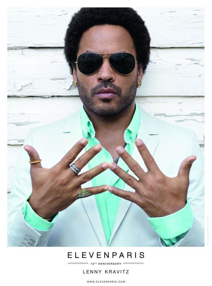 10 Years of Fashion, 10 Kravitz Albums–French label Eleven Paris celebrates their tenth year anniversary with their new spring/summer 2013 campaign featuring musician and actor Lenny Kravitz. Joined by Charlotte Free, Kravitz is photographed by Renaud Corlouer.