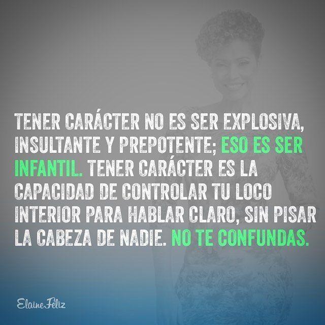 Carácter vs temperamento #strong women
