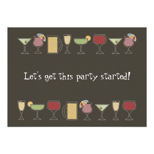 Best Cocktail Party Invitations Images On Pinterest Cocktail - Cocktail party invitation template
