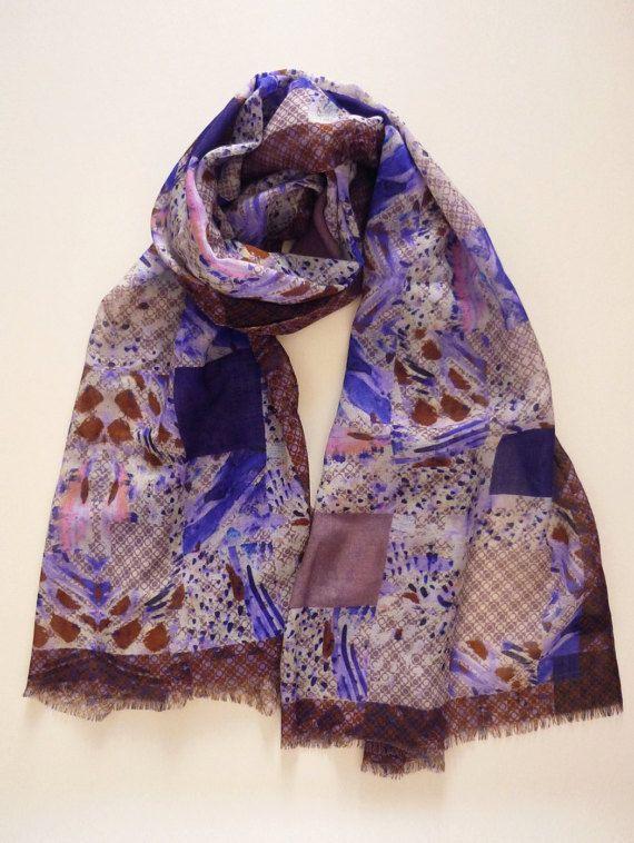 sciarpe di lana/seta 100% made in Italy di textileSchenck su Etsy