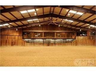 indoor arena - Weatherford, Texas
