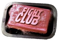 "1st RULE: You do not talk about FIGHT CLUB.  2nd RULE: You DO NOT talk about FIGHT CLUB.    3rd RULE: If someone says ""stop"" or goes limp, taps out the fight is over.    4th RULE: Only two guys to a fight.    5th RULE: One fight at a time.    6th RULE: No shirts, no shoes.    7th RULE: Fights will go on as long as they have to.    8th RULE: If this is your first night at FIGHT CLUB, you HAVE to fight."