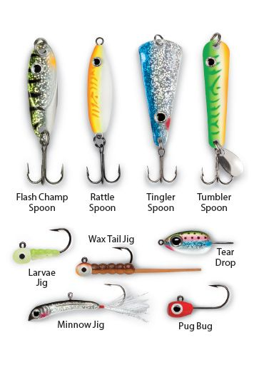 Loads Of New Ice Fishing Lures -by Steve Ryan   |  January 23rd, 2014 -This season, the ice fishing crowd can expect an impressive array of new ice fishing lures...