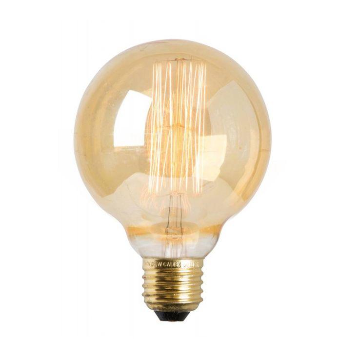 Watt&Veke Dekorativ Glödlampa Globe, E27 40W, Watt & Veke