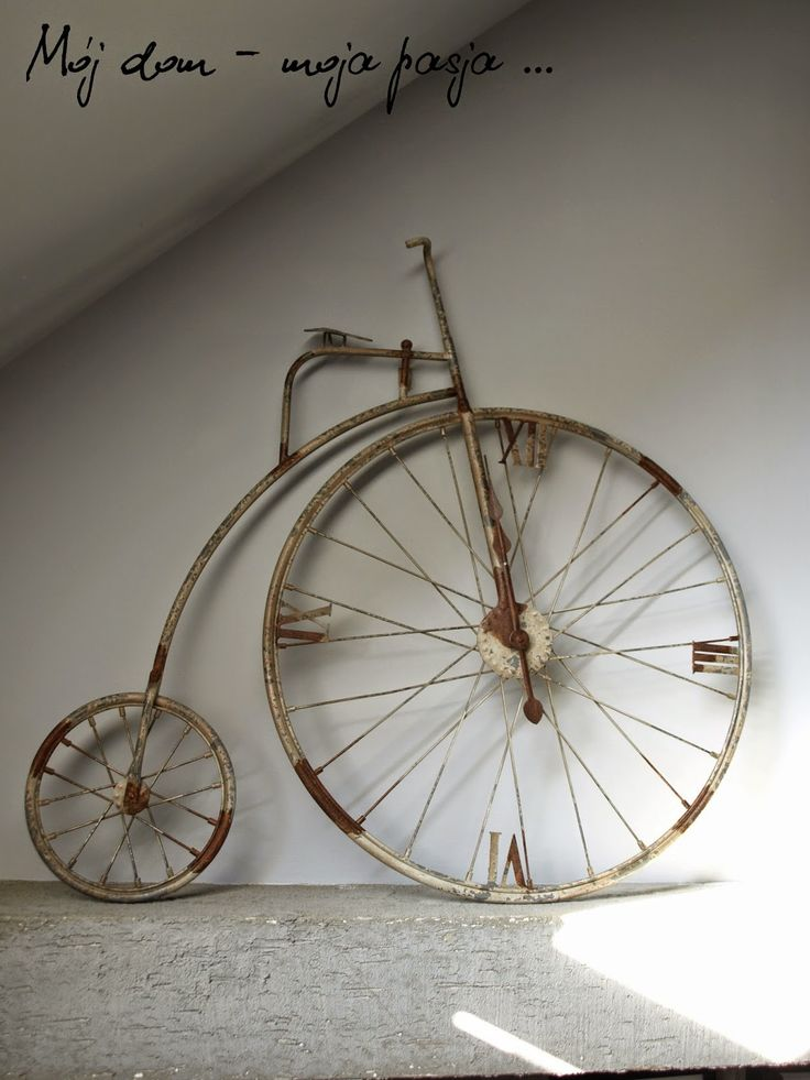 old bike, salon, retro, loft, vintage, home decor