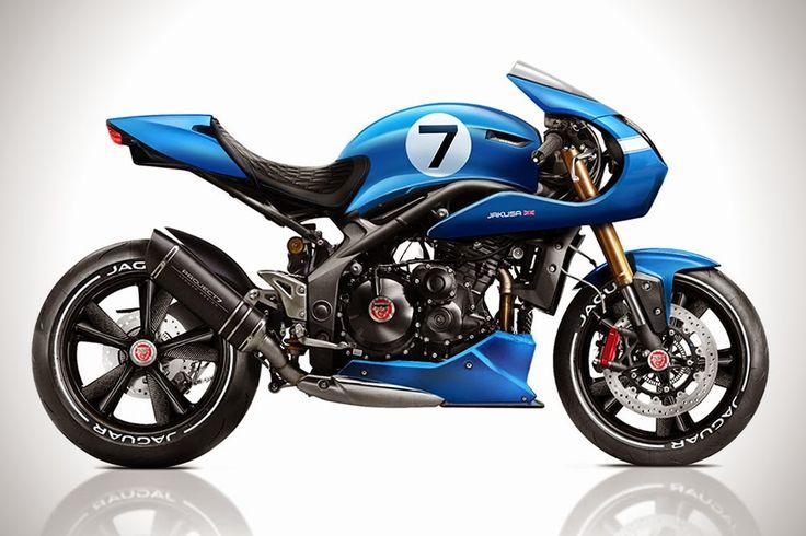 Konsept Motosiklet | Jaguar Project 7MC | TeknOlsun