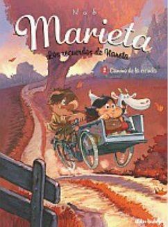 Xa terminou o verán e, agora que Marieta atopou un fogar no campo, cos seus avós e a súa tía, toca prepararse para entrar ao cole. Non é fácil levantarse axiña que para ir á escola do pobo e facer os deberes tan tarde, logo de haberse ocupado da granja. Marieta atópase un pouco perdida no camiño, sen os seus pais preto. Unha sorte que os seus novos amigos, Blanquita, Juanito e Jaime, acompáñana nas rutas a través do campo.
