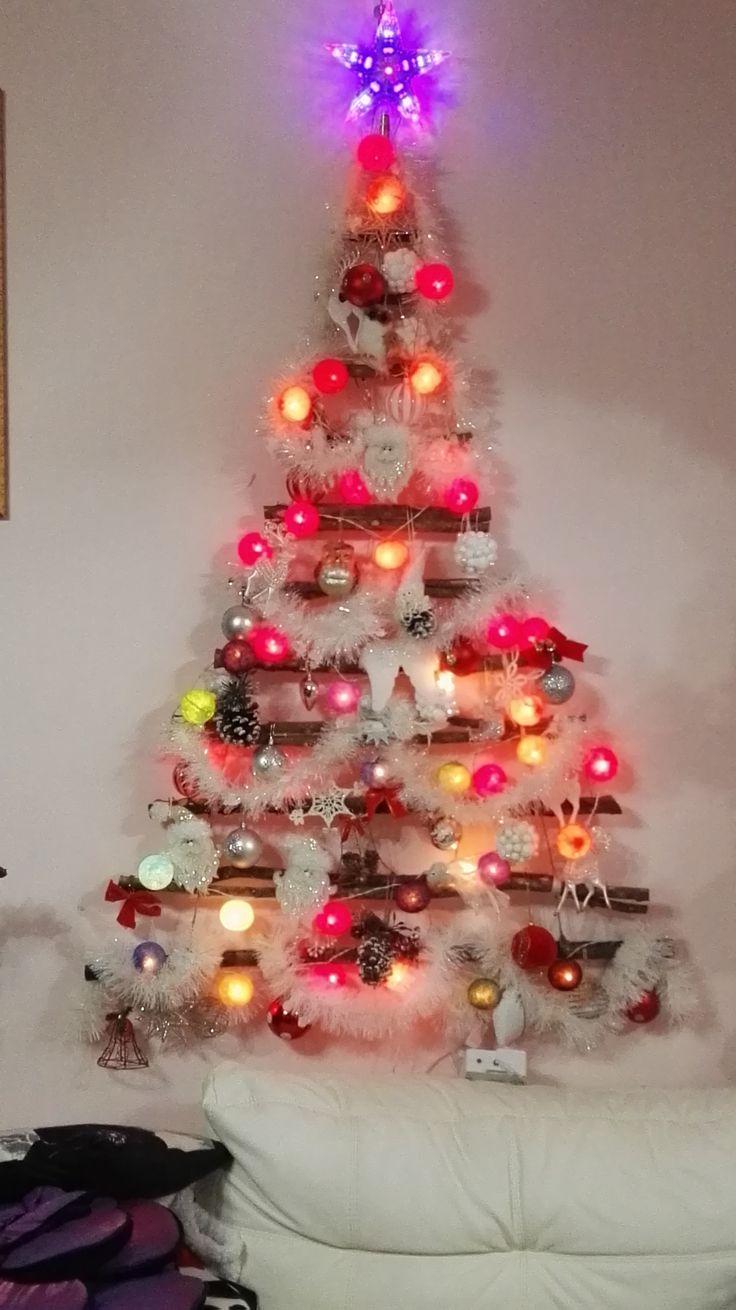 Albero di Natale a parete