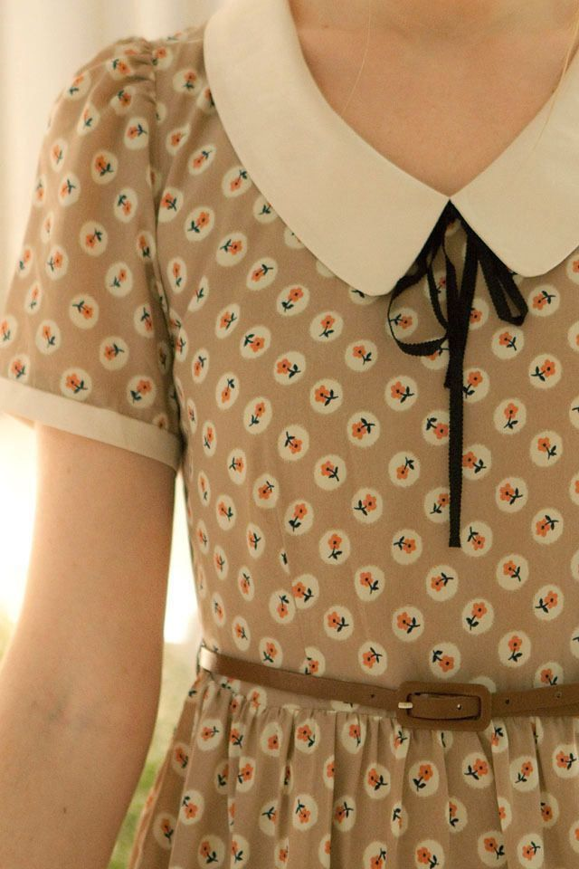 Pretty, Feminine and Modest Fashion Inspiration   Truly Skrumptious #fashion #outfit #vintage