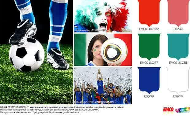 Hallo Italia! #Inspirasi #Warna http://matarampaint.com/detailNews.php?n=112