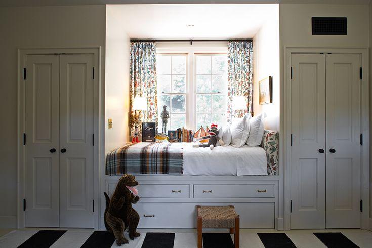 Kristen Panitch Interiors: Closet Doors, Boys Rooms, Window Beds, Builtin, Reading Nooks, Window Seats, Kids Rooms, Cozy Beds, Built In Beds