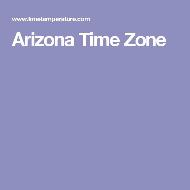 Arizona Time Zone