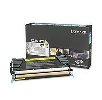 Lexmark C736 Toner Cartridge, Select Color