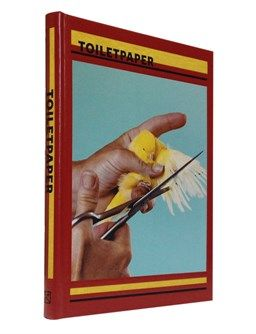 'Toiletpaper' Volume I | Red edition by Maurizio Cattelan and Pierpaolo Ferrari - ISBN 9788862082105 Red