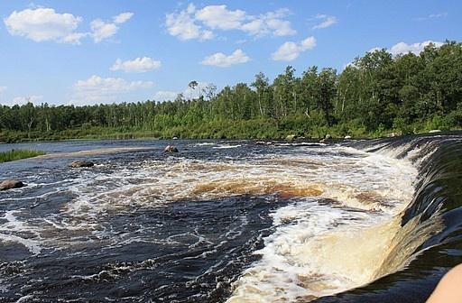 Rainbow Fall,Whiteshell Provincial Park,mb,Canada. ... click to see full size!