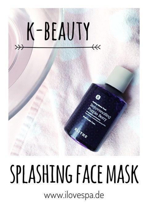 Flüssige Gesichtsmaske zur Anwendung unter der Dusche in nur 15 Sekunden – K-Be…