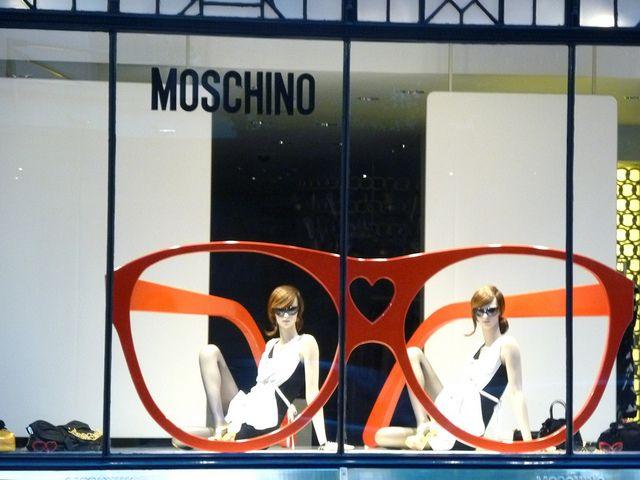 Moschino London window