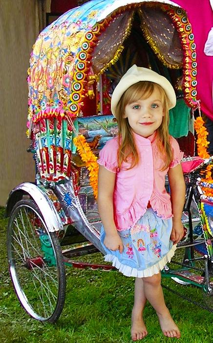 Cest si Bon! La Joie de Vivre: If I were a gypsy...  and a ilttle cart to hook to the bike...