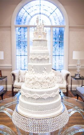 Franck S Studio Castle Cake Topper Disney World